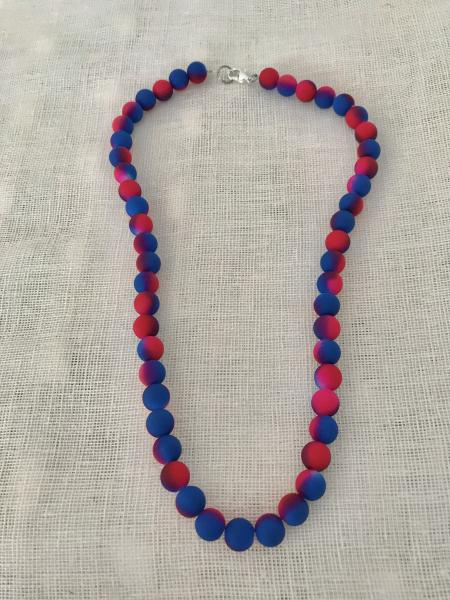 Neon Blue & Pink Necklace