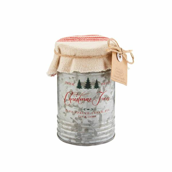 Christmas Tin Candles picture