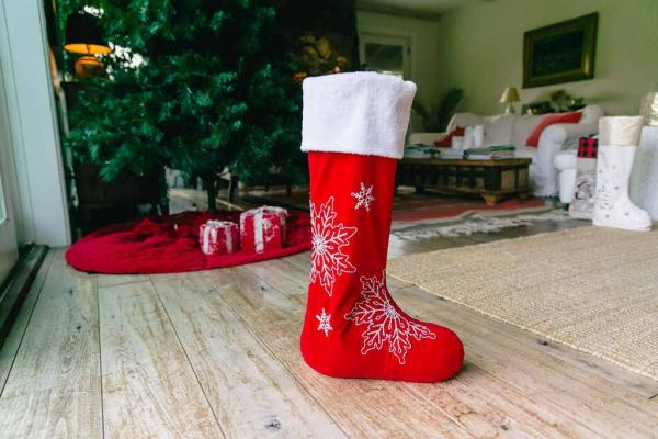 "30"" Sparkle Me Traditional Standing Stocking"