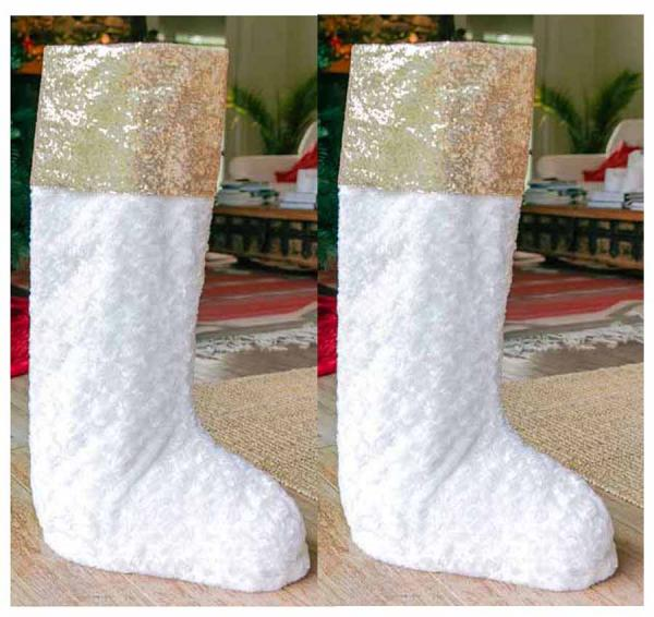 2 pc All That Glitters Stocking Bundle (2) 30""