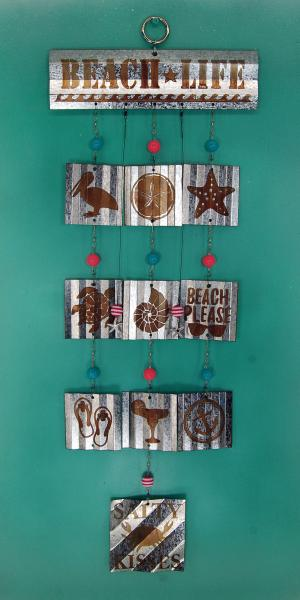 Beach Life Wind Chime