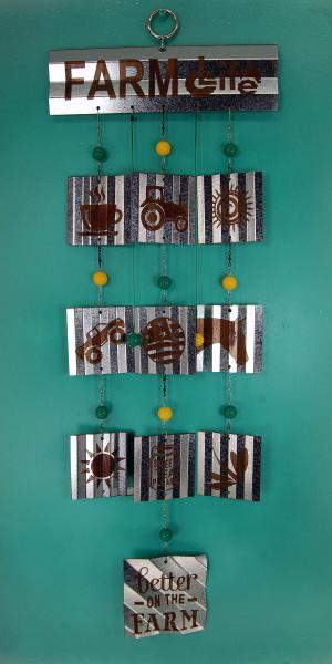 Farm Life Wind Chime