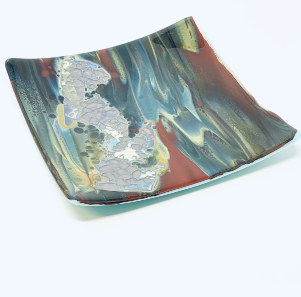 Petrified Glass Plates And Platters