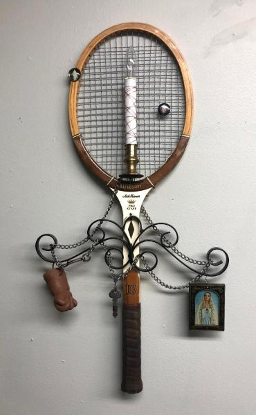 "It's a Racket Too 14"" x 27"" x 3"""