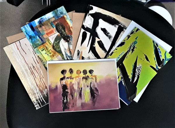 Mixed Bag set of 5 cards w/envelopes