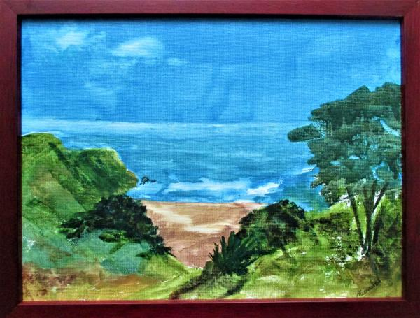 California Coast original acrylic