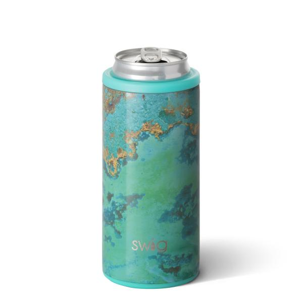 Swig 12oz Skinny Can Cooler - Copper Patina