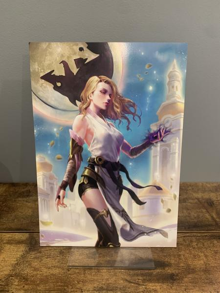Zephyra (From Illumination front cover) Character Print A4
