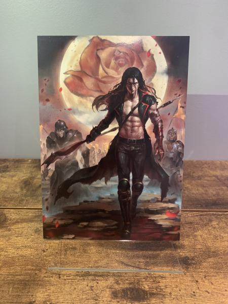Jex (From Reaper front cover) Character Art Print A5