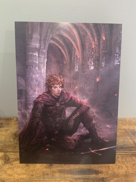 Rufus (From Awakening back cover) Character Art Print A4