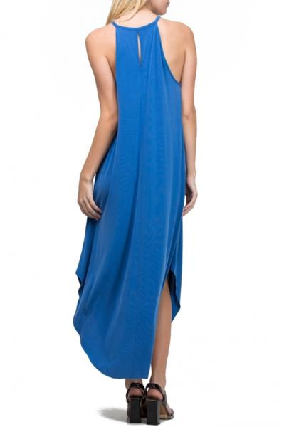 Scoop Bottom Sleeveless Dress, 4 Colors picture