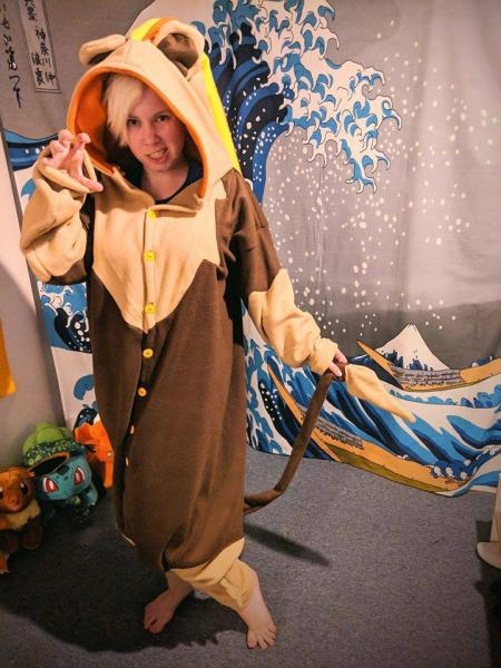 Pyroar Female Onesie