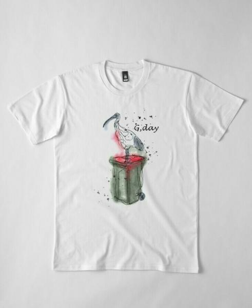 G.day mate Ibis Funny Men's T-Shirt