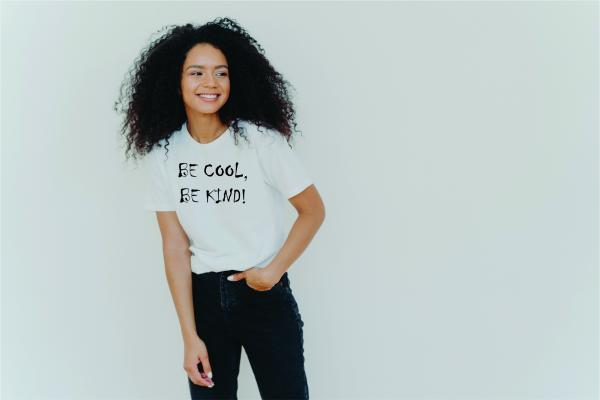 Be Cool Be Kind! Women's Funny T-Shirt