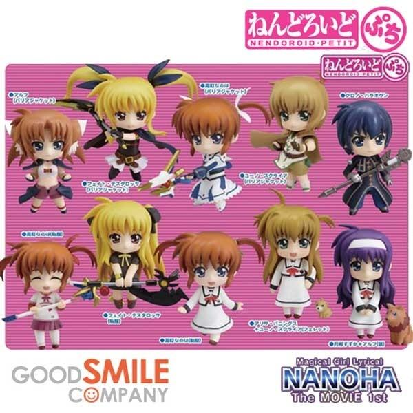 Nendoroid Petite: Magical Girl Lyrical Nanoha The MOVIE 1st Trading Figures
