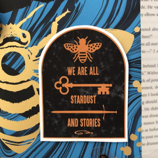 The Starless Sea We Are Stardust and Stories Sticker for bullet journals, planners, diaries and more!