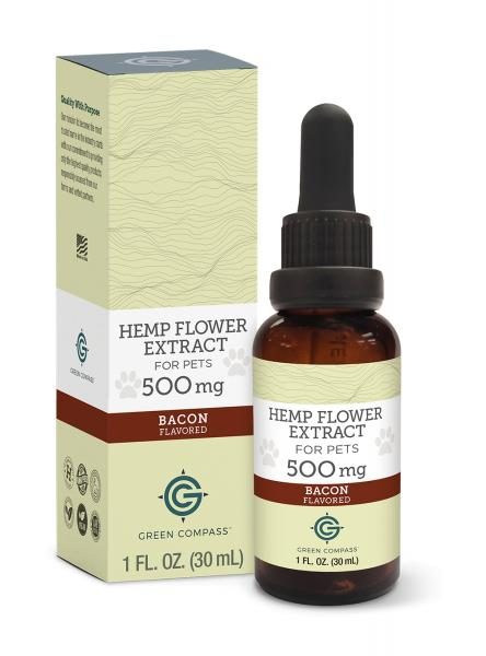 CBD Hemp Extract for Pets- 500 mg- Bacon Flavor picture