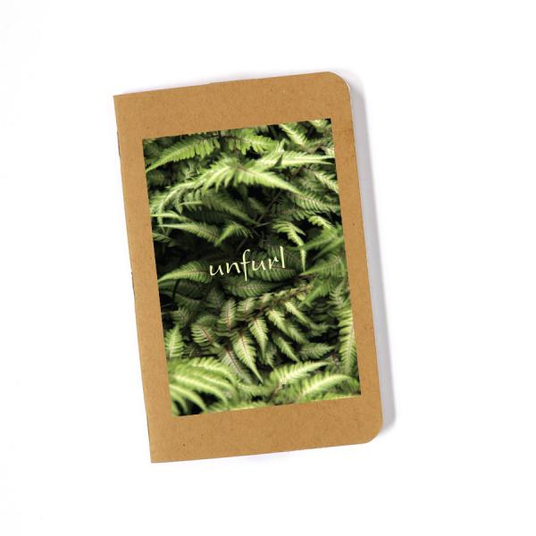 Recycled Journal - Ferns