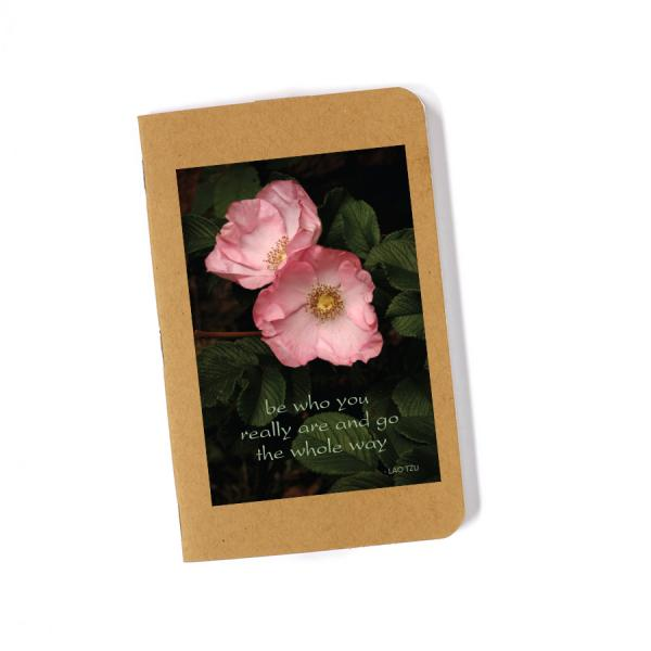 Recycled Journal - Wild Roses