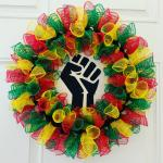 Power Fist Wreath