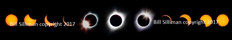 Total Solar Eclipse on metal