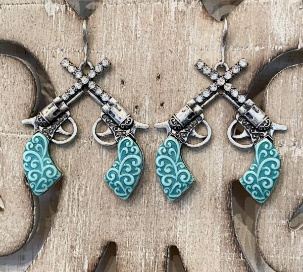 Cowgirl Turquoise Earrings