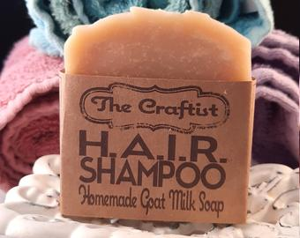 HAIR Handmade Goat Milk Shampoo Bar