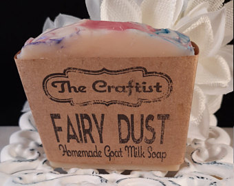 Fairy Dust Handmade Goat Milk Soap