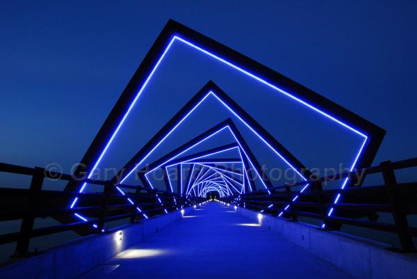'High Trestle Trail' - matted print