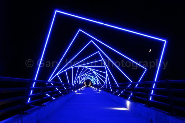 'High Trestle Trail - print on metal picture
