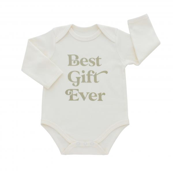 Best Gift Ever Christmas Baby Onesie
