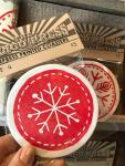 Christmas Button Coasters