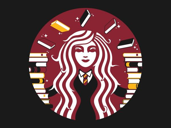 Hermione Coffee / Harry Potter inspired t-shirt