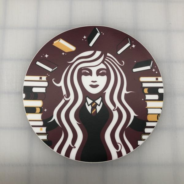 Hermione Coffee printed decal
