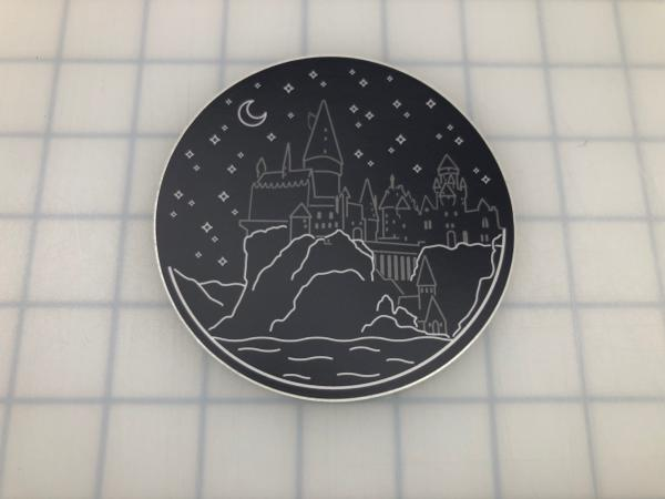 Hogwarts printed decal