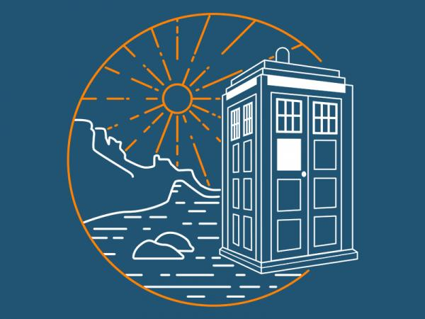 TARDIS / Doctor Who inspired t-shirt