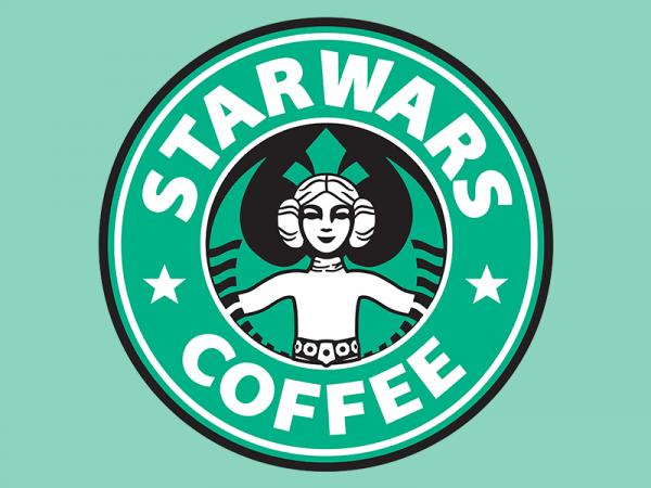 Star Wars Coffee / Star Wars inspired t-shirt