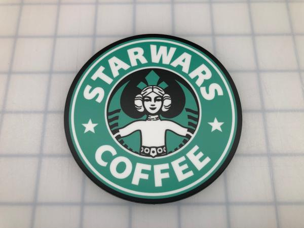 Star Wars Coffee printed decal picture