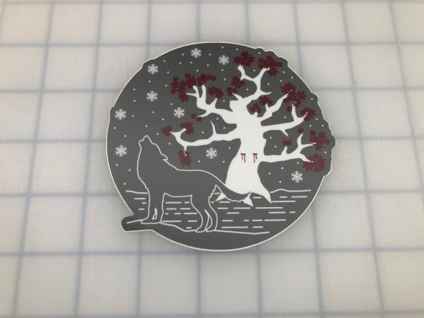 Winterfell / Heart Tree printed decal