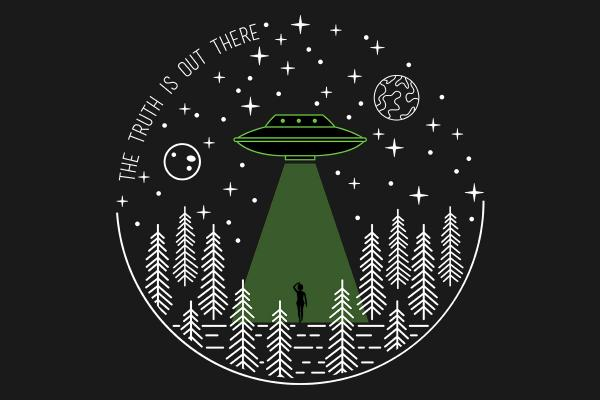 The Truth Is Out There / X-Files inspired t-shirt