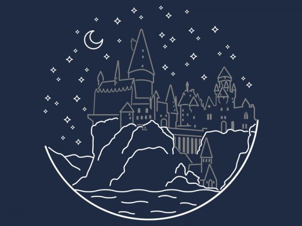 Hogwarts / Harry Potter inspired t-shirt
