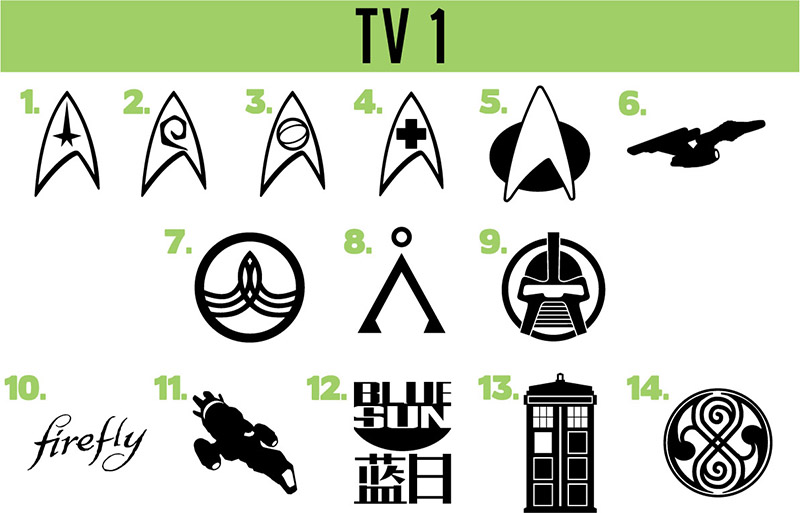 TV show vinyl decals