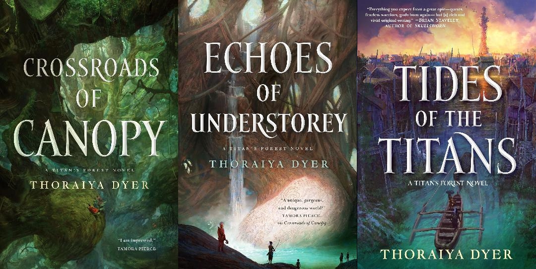 Titan's Forest Multibuy - Thoraiya Dyer