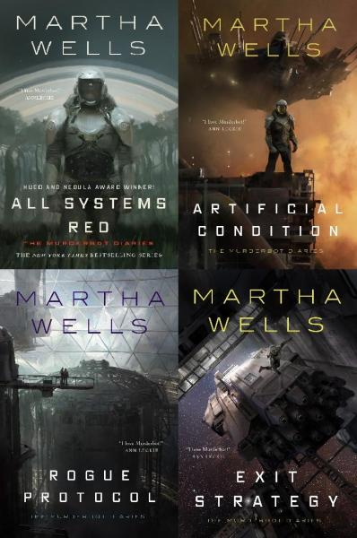 Murderbot Diaries Multibuy - Martha Wells