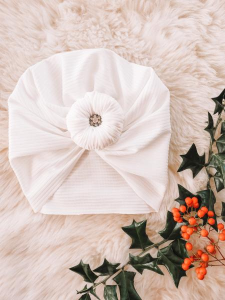 Christmas knotted turban