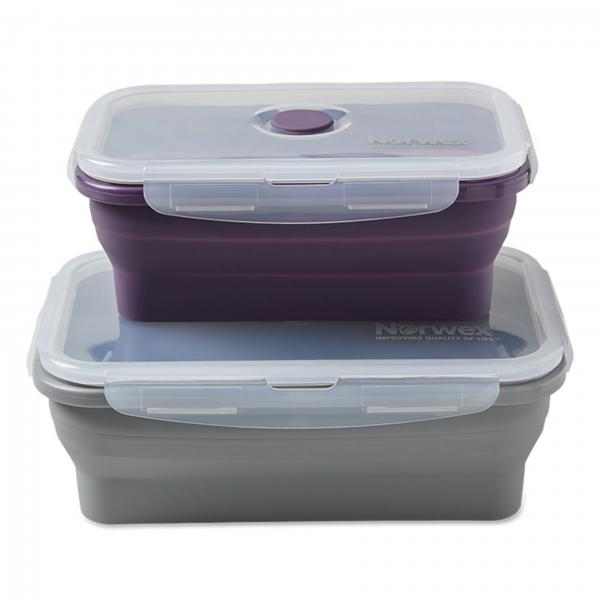 Silicone Food Storage Containers - L/XL