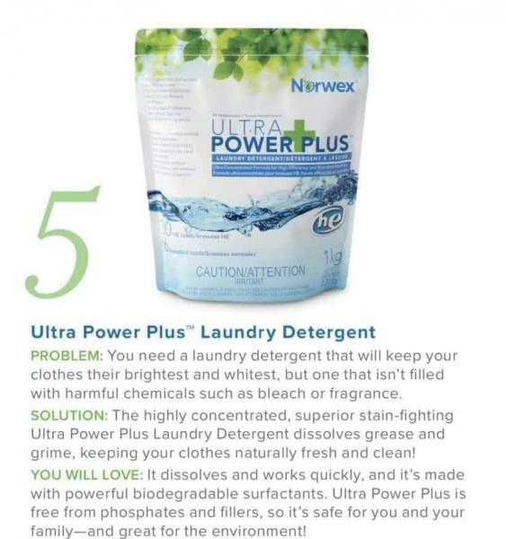 Ultra Power Plus Laundry Detergent picture