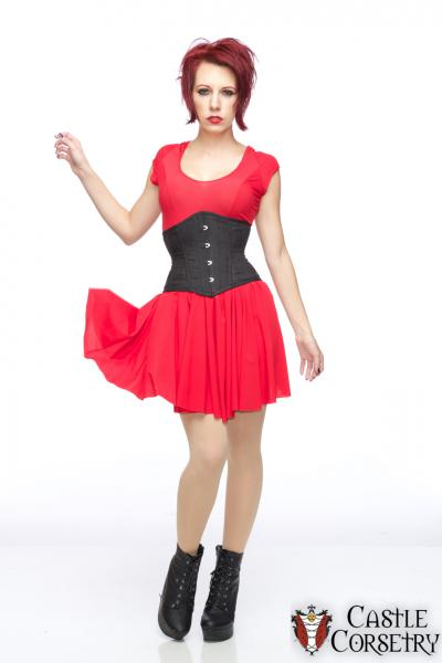 Silk or Leather Waist-Cincher Corset