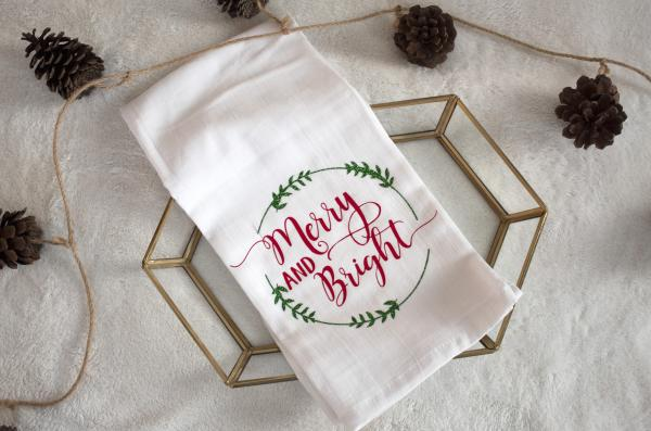 Merry & Bright Towel