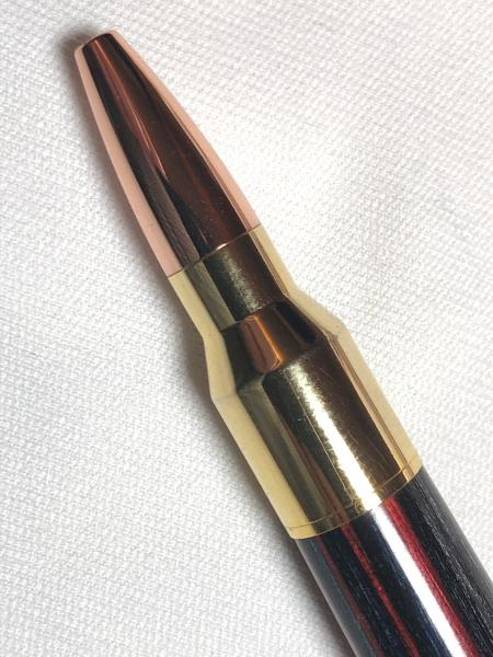 Lock and Load style Bolt action .30 caliber pen made with various woods. picture